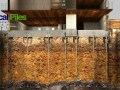 helical pile foundation method